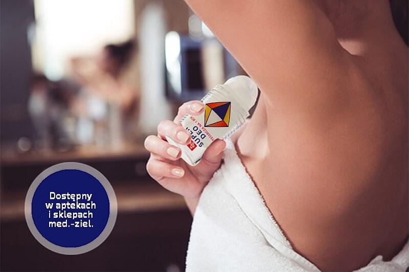 Dezodorant Super Deo – super wolność od zapachu potu!